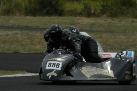 Sidecar Competitors in SA Historic Championships - Photo Rob Lewis