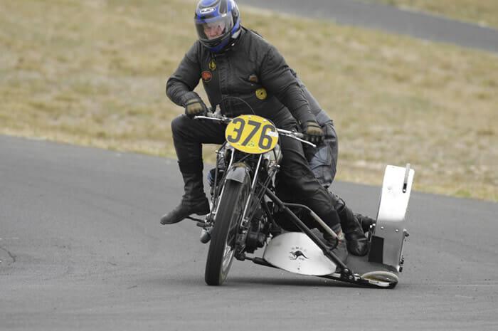 Graham Rowley and Terry Hutchinson BSA 498