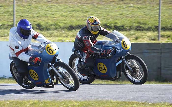 Bryon and Adam Burnett Honda CB 450's