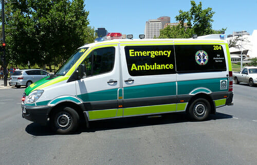 SA Ambulance cover