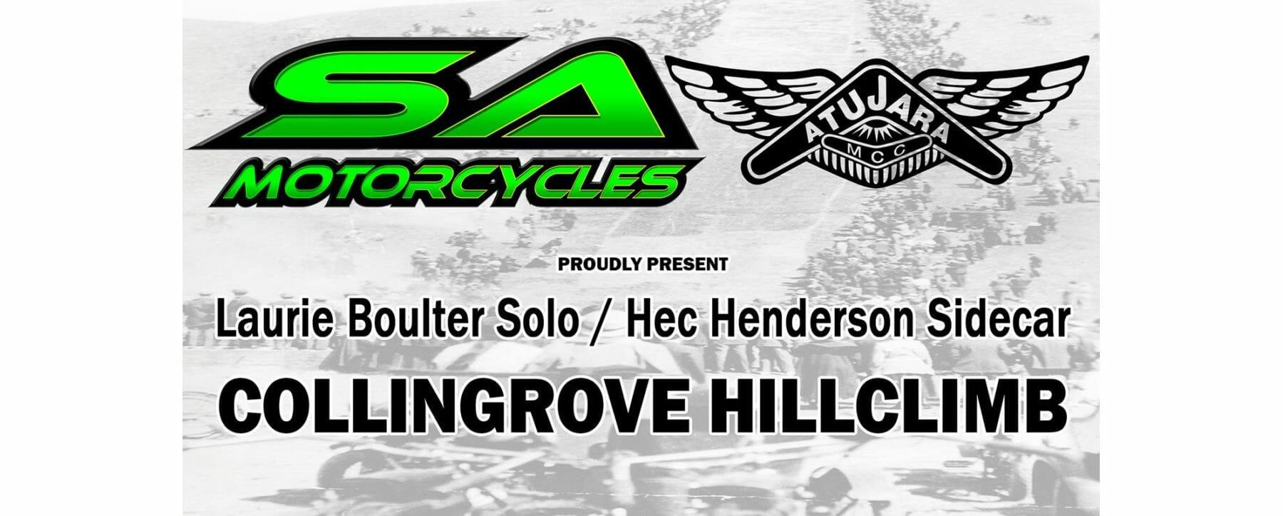 2018 SA Motorcycles/Atujara MCC Collingrove Hillclimb