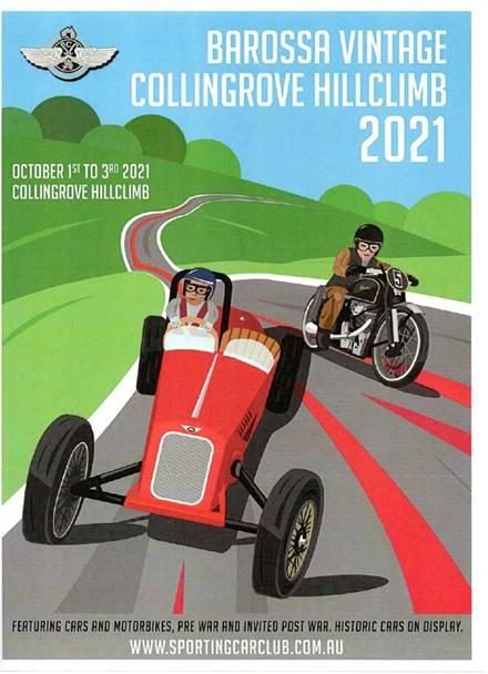 Vintage Barossa Collingrove Hillclimb